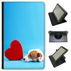 Jack Russell Terrier Dog Universal Folio Leather Case For Amazon KindleTablets