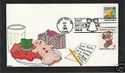 KRIBBS 1986 SEASONS GREETINGS HAND PAINTED HP FIRST DAY COVER FDC