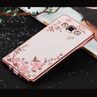 Hot Silm Shockproof Soft Gel Diamond Clear Case Cover For Samsung Galaxy S7 Edge