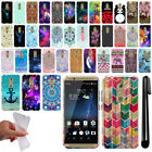 For ZTE Axon 7 A2017U Cute Design TPU SILICONE Rubber Case Phone Cover + Pen