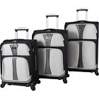 Verdi Bailo 3-Piece Expandable Spinner Set - eBags Luggage Set NEW