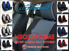 Coverking Neosupreme Custom Fit Front & Rear Seat Covers for Chevy Silverado