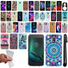 "For Motorola Moto G4 Play 5"" XT1607 Design TPU SILICONE Case Phone Cover + Pen"