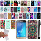 For Samsung Galaxy J1 J120 2nd Gen / Luna S120 Design TPU Soft Case Cover + Pen