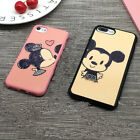 Hot Cute Cartoon Mickey Kiss Couples Soft Case Cover For iphone 5S SE 6S 7 Plus
