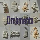 Provo Craft Holiday Christmas Ornaments Ceramic Wood Porcelain Ready To Paint