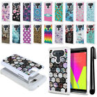 For LG V20 VS995 H990 LS997 H918 US996 Anti Shock Bling HYBRID Case Cover + Pen
