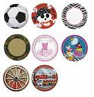 "Children Party Themes - 8 x 9"" Paper PLATES (Boy/Girl Birthday PARTY RANGE)"