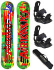 SNOWBOARD SET AIRTRACKS ONE LINE HYBRID ROCKER+BINDUNG+SB BAG+PAD/146 151 156cm/