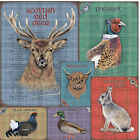 British Countryside Wildlife Hunting Game Vintage Retro Metal Tin Sign New 15x20