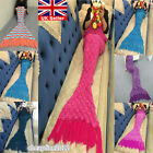 Adult Kids Fish Scale Mermaid Tail Crocheted Sofa Knit Lapghan Blanket Quilt Lot