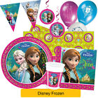 Disney FROZEN Official PARTY RANGE (Alpine) (Tableware/Decorations) Anna/Elsa