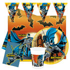 BATMAN Birthday Party Range (PROCOS New) Kids Tableware Balloons & Decorations