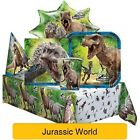 JURASSIC WORLD Birthday Party Range (Tableware Balloons & Decorations)