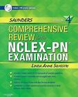 Saunders Comprehensive Review For The Nclex-Pn Examination Silvestri NEW IN WRAP