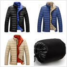 Winter Warm Men stand collar Thin Slim Fit Jacket Duck down Coats Parka Outwear