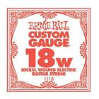 One Electric Guitar String Ernie Ball Nickel Wound Guitar String 18 - 50 Wound