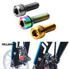 M6x18mm Disc Brake Bolt Clamp MTB Mountain Bike Bicycle Screw With Washer Gasket