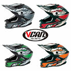 VCAN V321 MX MOTORCROSS TRAILS ENDURO QUAD OFF ROAD HELMET BLACK FRIDAY OFFER