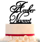 Wedding Cake Topper with 2 Names