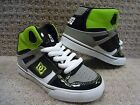 "DC Youth's Shoes ""Spartan High"" -- Black/Battleship/Soft Lime(OBS) , Size 11.5"