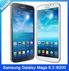 "Samsung GALAXY Mega 6.3 I9200 GSM 3G Unlocked 6.3"" Screen Dual Core  SmartPhone"