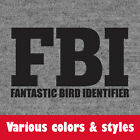 Fantastic Bird Identifier Birder Guide Avian Watcher Lovers Funny t-shirt shirt