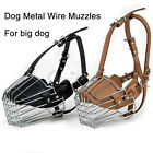 Adjustable Pet Dog Basket Mouth Muzzle Cover Bark Bite Chew Control Training Set