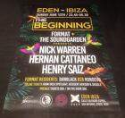 FACTION / HY-PWA / MANSION / BACCANALI @ EDEN IBIZA CLUB POSTERS 2016