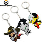 Overwatch McCree Genji Silicone Rubber Keychain Key Ring Pendant Souvenir Gift