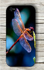 DRAGONFLY PINK WINGS CASE FOR iPHONE 4 5 5C 6 -hdf4Z