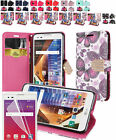 Film LCD+PU Wallet Case Cover w/Strap & CC Slot For LG Tribute HD / LG X Style