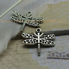 15/45pcs  New Fashion exquisite hollow out dragonfly charm pendant