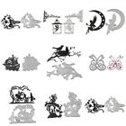 Metal Elf Cutting Dies Stencil Scrapbook Album Paper DIY Card Embossing Craft