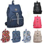 Canvas School Bags Rucksack Large Shoulder Bag Travel Hiking Backpacks Promotion