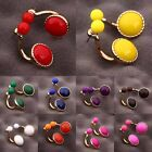 Sale Fashion Women Lady Girl Jewelry Evening Party Classic Ball Stud Earrings