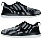 NIKE ROSHE TWO FLYKNIT CASUAL WOMEN's BLACK - WHITE - COOL GREY AUTHENTIC NEW SZ