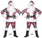 St. Nick Santa Claus Camo Camouflage Hunter Christmas Costume Red White Green