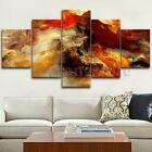 5 Panel Modern Art Oil Painting Print Canvas Picture Home Wall Room Decoration