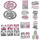 Cutting Dies DIY Stencil Scrapbook Album Paper Card Embossing Craft