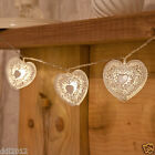 10LED BATTERY OPERATED INDOOR BEDROOM LOVE HEART WEDDING FAIRY STRING LED LIGHTS
