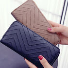 1pc Women Ladies PU Leather Clutch Wallet Long Card Holder Purse Handbag New