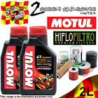2L 7100 10W40 OFF ROAD OIL AND HF204C YAMAHA YFM550 FG GRIZZLY FI AUTO 4X4 2010