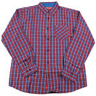 CHOCOLATE Skateboard Longsleeve Button Shirt DODSON RED