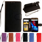 PU Leather Wallet Flip Stand Pouch Case Cover Skin For Motorola Moto G3 G2 XPlay