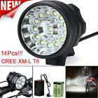 Super Bright 32000LM CREE T6 LED Mountain Bike Head Light Cycling Bicycle Light