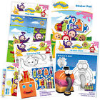 TELETUBBIES - Colouring/Activity/Sticker/Busy Packs/Books (Kids/Gift/Fun)