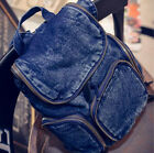 Women Casual Outdoor Travel Backpack Fashion School Backpack denim Bags