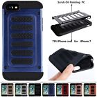 PC+TPU Shockproof 2 in1 Combo Heavy Duty Case Cover For iPhone 5S 6 6S 7 Plus SE