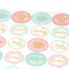 "120Pcs-5sheets Oval ""Thank You"" Adhesive Seal Sticker Label Envelope Card Decor"